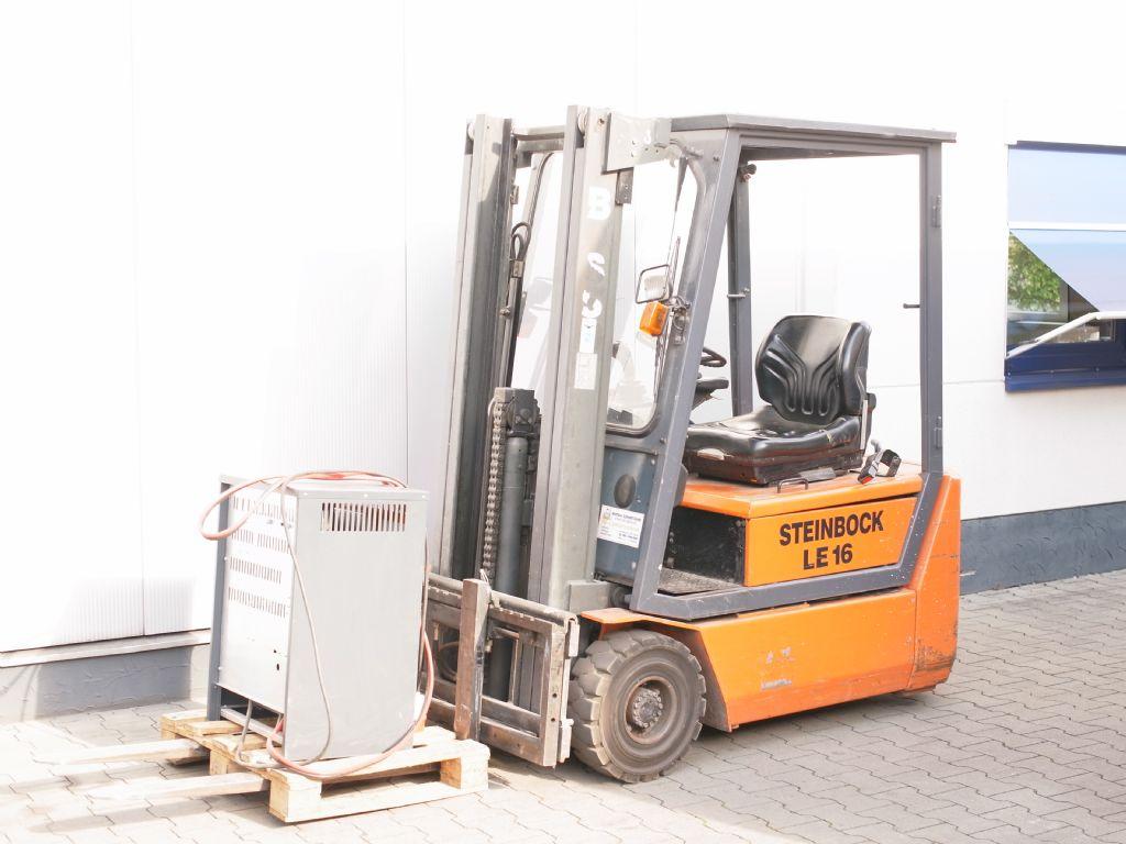 Steinbock-LE 16-100 MP MKV /A1-Elektro 3 Rad-Stapler-www.gabelstapler-schmidt.de