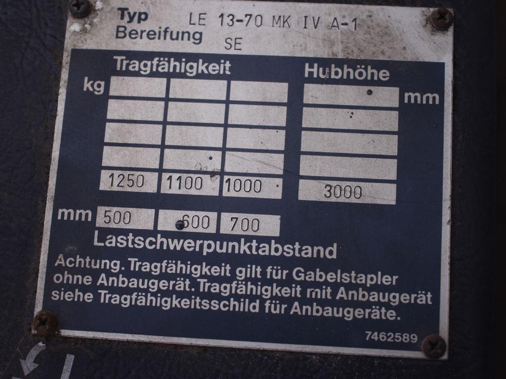 Steinbock-LE 13 -70 MK IV A-1-Elektro 3 Rad-Stapler-www.gabelstapler-schmidt.de
