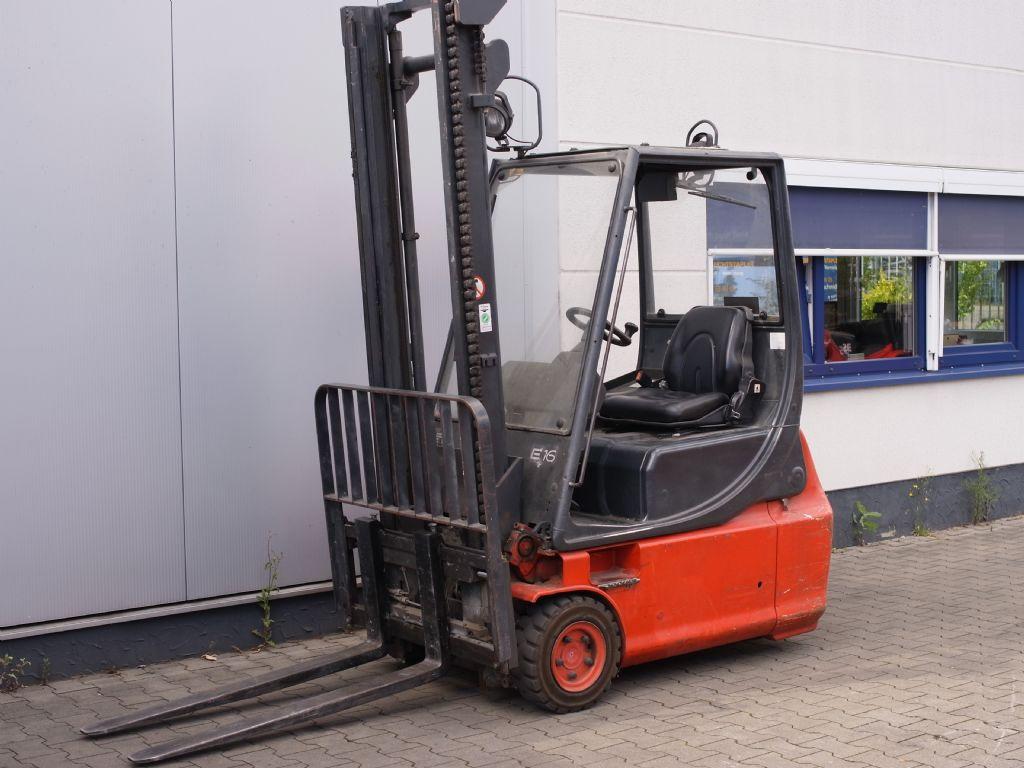 Linde-E 16-Elektro 3 Rad-Stapler-www.gabelstapler-schmidt.de
