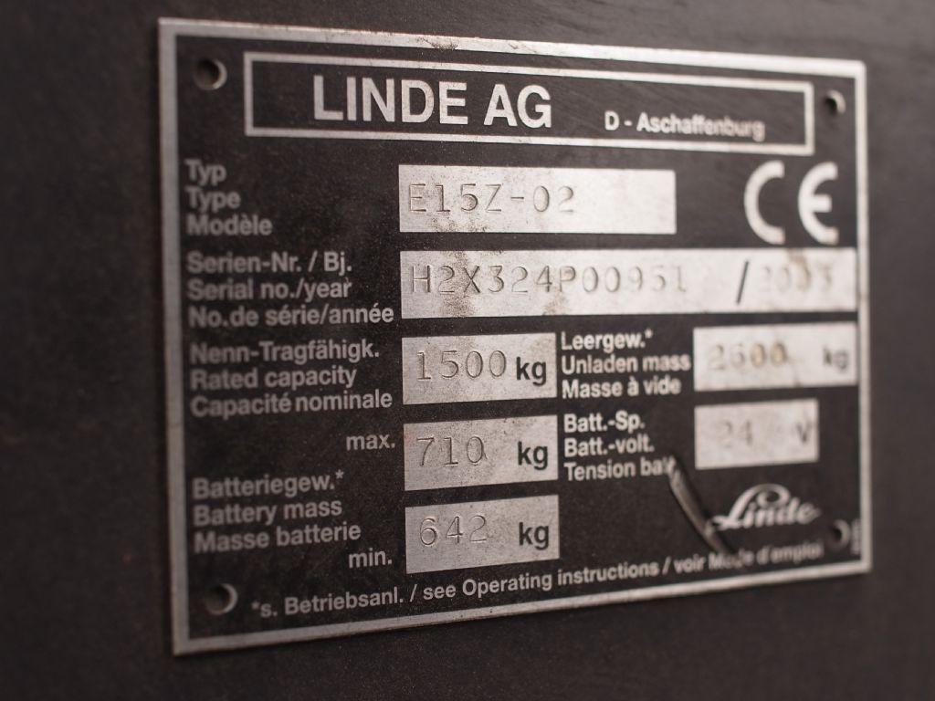 Linde-E 15-Elektro 3 Rad-Stapler-www.gabelstapler-schmidt.de