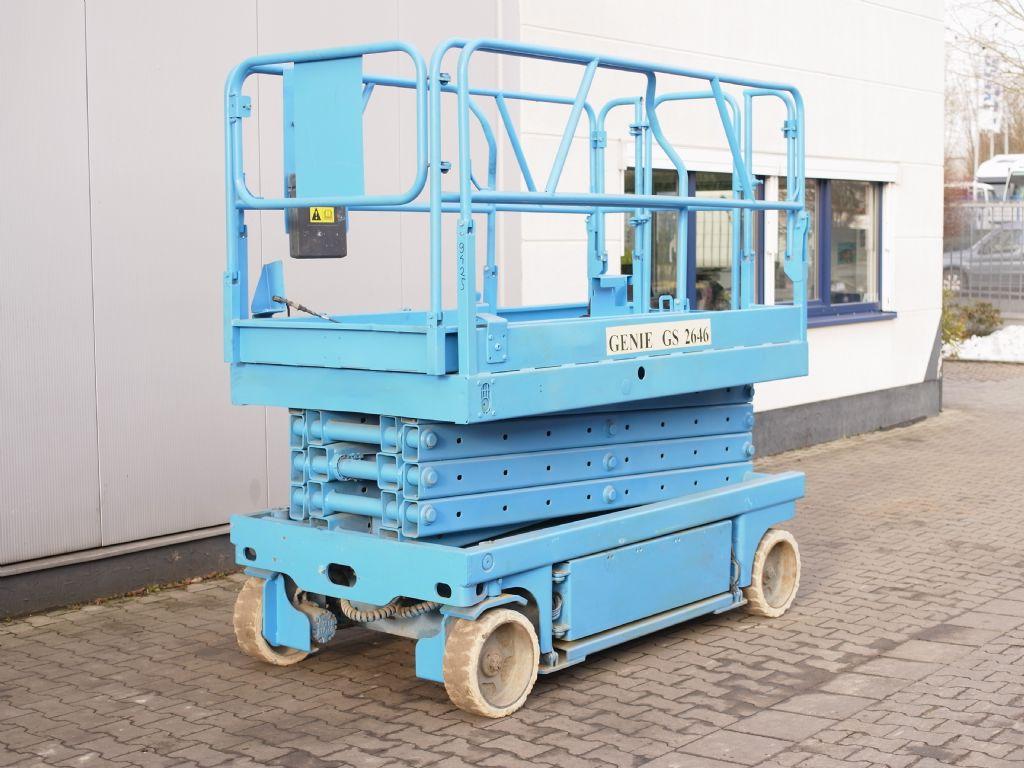 Genie-GS 2646-Scherenarbeitsbühne-www.gabelstapler-schmidt.de