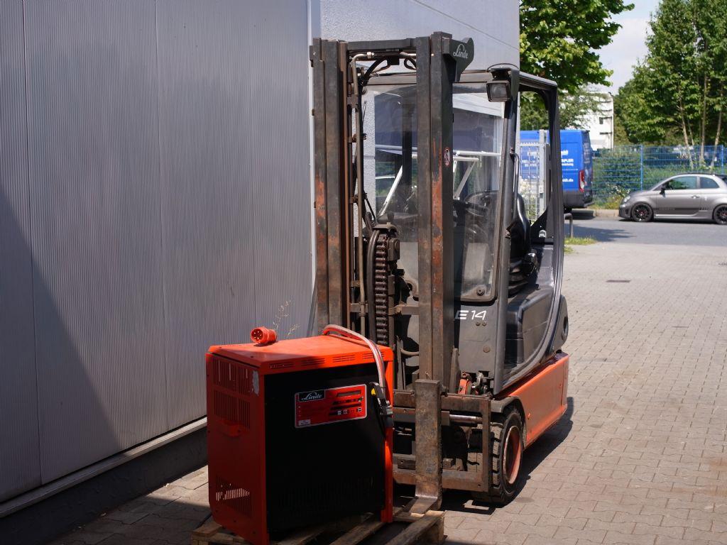 Linde-E 14-02-Elektro 3 Rad-Stapler-www.gabelstapler-schmidt.de