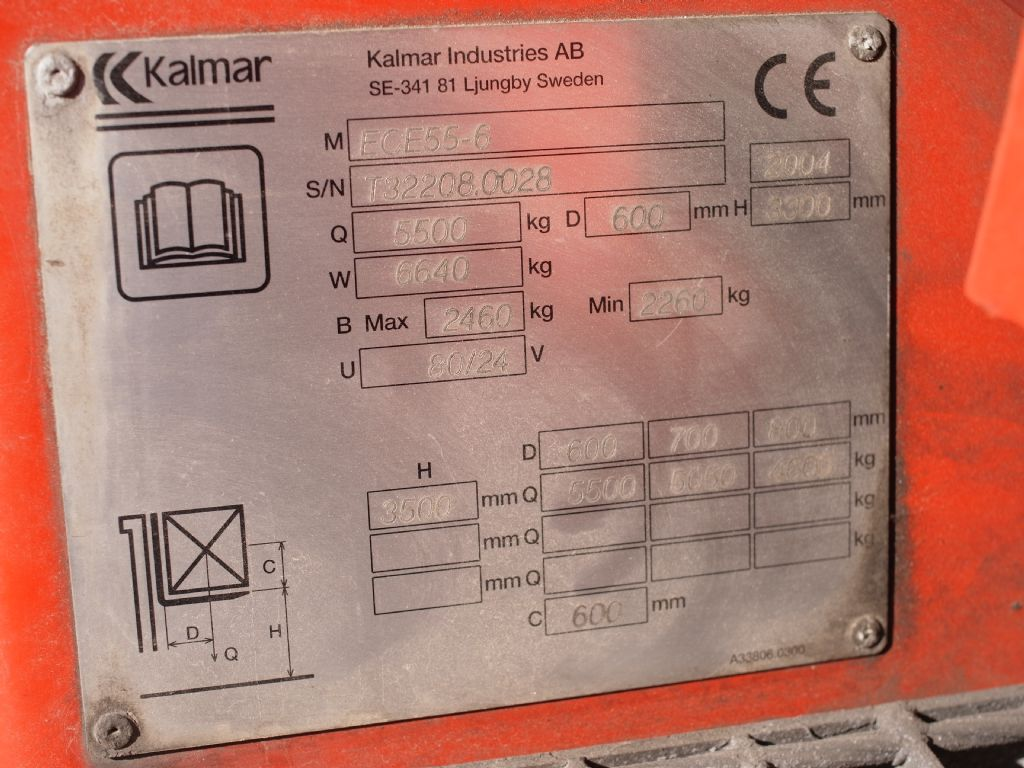 Kalmar-ECE 55-6-Elektro 4 Rad-Stapler-www.gabelstapler-schmidt.de