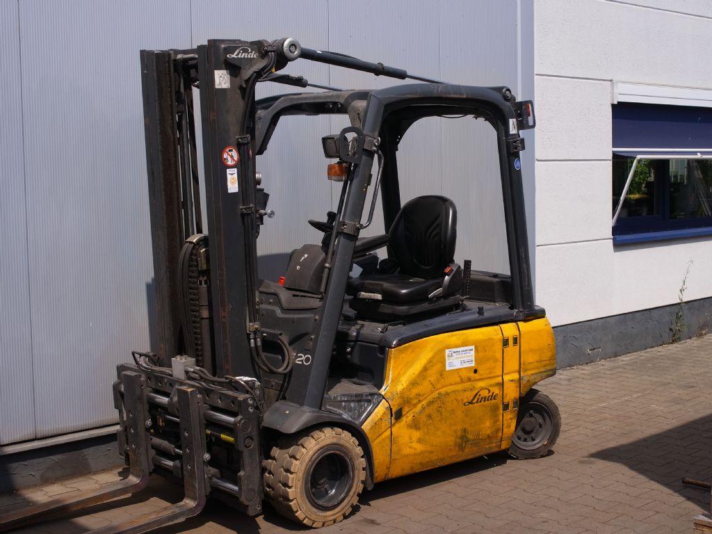 Linde-E20PL -01-Elektro 4 Rad-Stapler-www.gabelstapler-schmidt.de