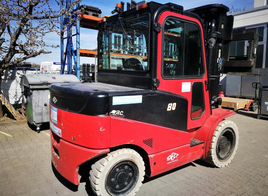 Hangcha CPD 80J Elektro 4 Rad-Stapler www.schmidt-falbe.de