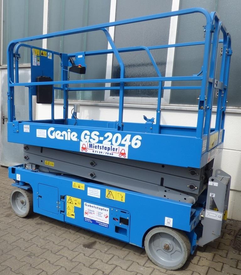 Genie GS2046 Scherenarbeitsbühne www.schmidt-falbe.de