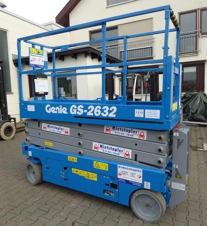 Genie GS-2632 Scherenarbeitsbühne www.schmidt-falbe.de