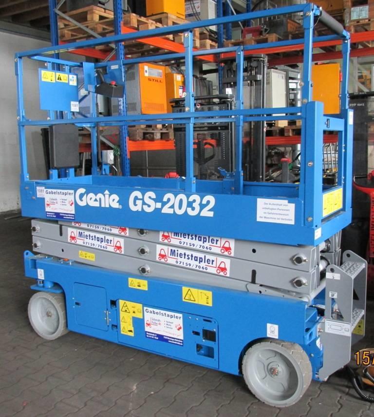 Genie GS-2032 Scherenarbeitsbühne www.schmidt-falbe.de