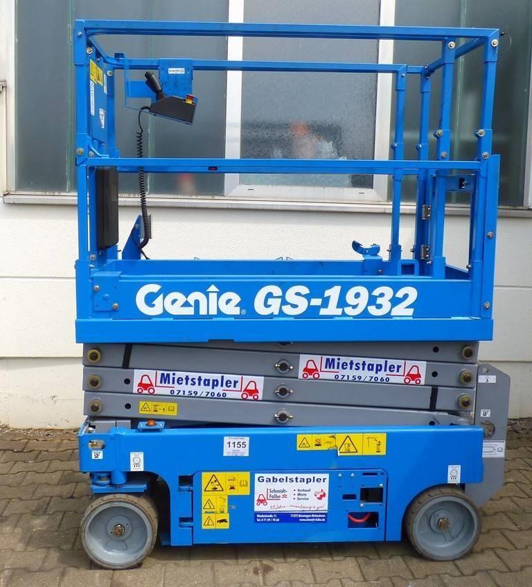 Genie GS-1932 Scherenarbeitsbühne www.schmidt-falbe.de