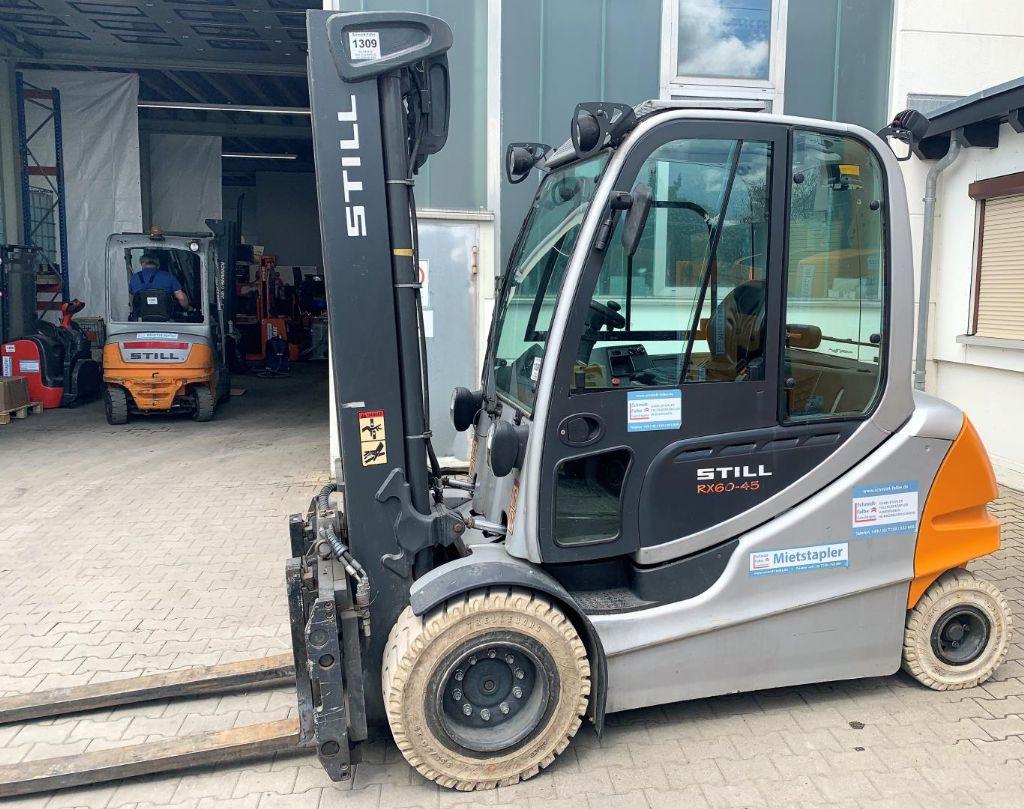 Still RX60-50 Elektro 4 Rad-Stapler www.schmidt-falbe.de