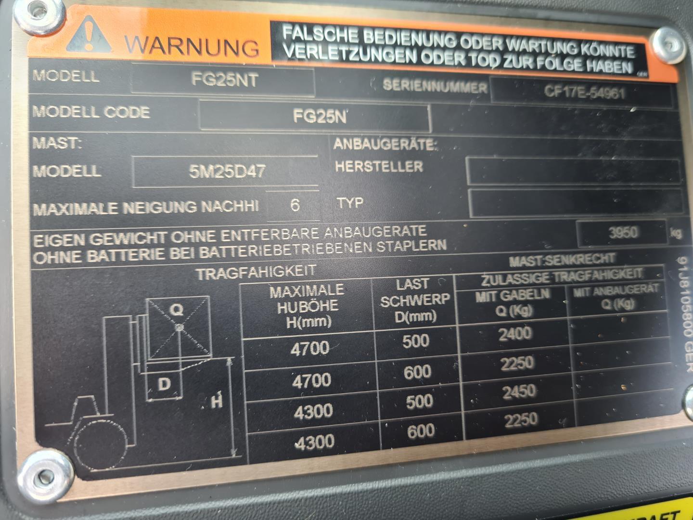 Mitsubishi-FG 25 N-Treibgasstapler-www.schuetze-gabelstapler.de