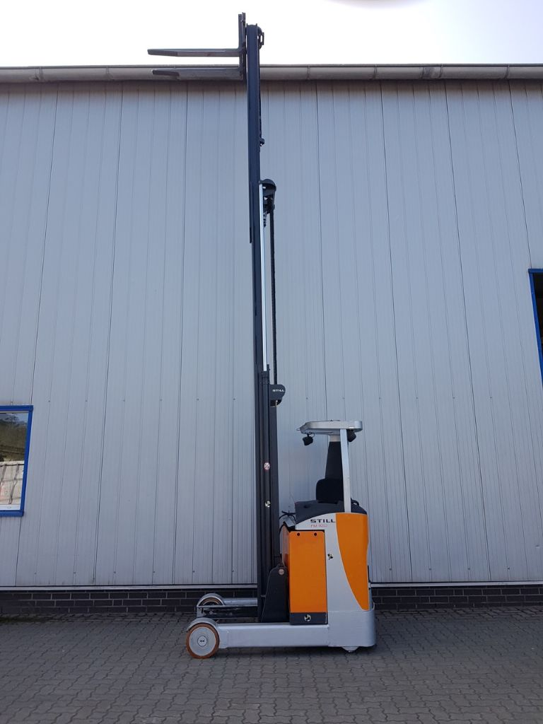 Still FM-X20 Schubmaststapler www.schumacher-gabelstapler.de