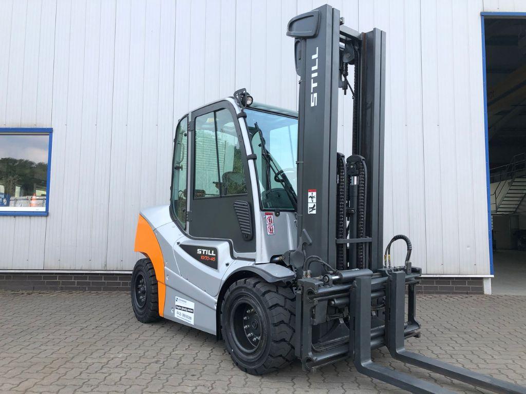 Still RX70-45, nur 4.100 Bst. Dieselstapler www.schumacher-gabelstapler.de