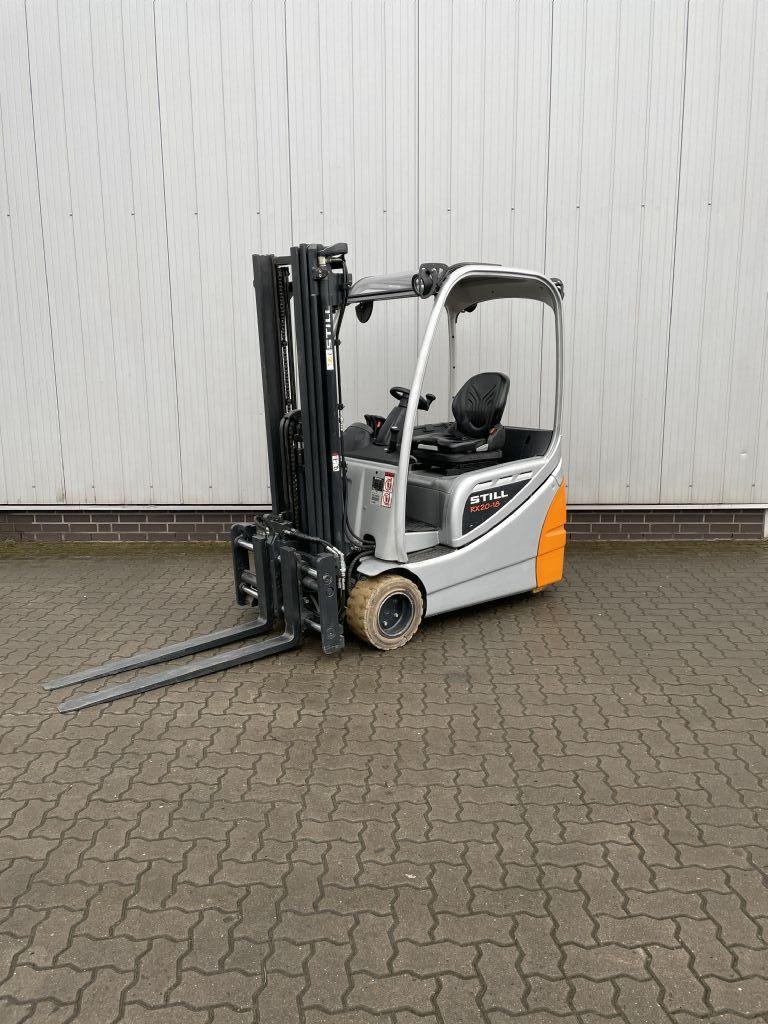 Still RX20-18 Elektro 3 Rad-Stapler www.schumacher-gabelstapler.de
