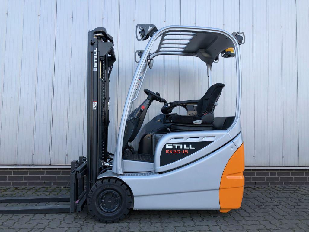 Still RX20-15 Elektro 3 Rad-Stapler www.schumacher-gabelstapler.de