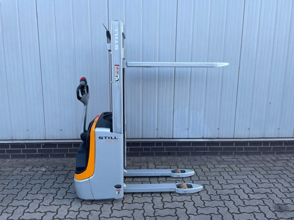Still EXV10 - AKKU NEU! Hochhubwagen www.schumacher-gabelstapler.de