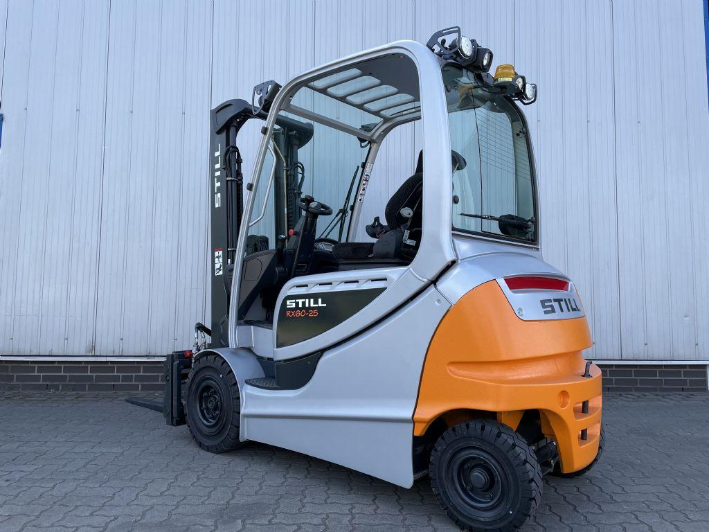 Still RX60-25L - AKKU 98% Elektro 4 Rad-Stapler www.schumacher-gabelstapler.de