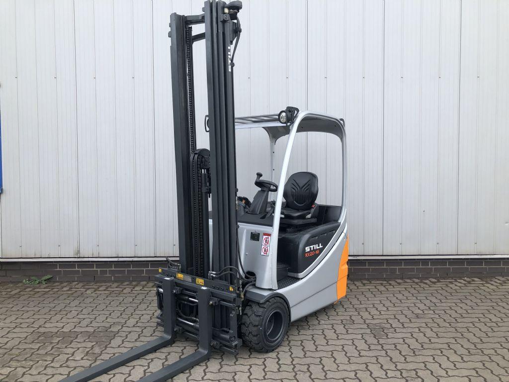 Still RX20-16 - AKKU NEU Elektro 3 Rad-Stapler www.schumacher-gabelstapler.de