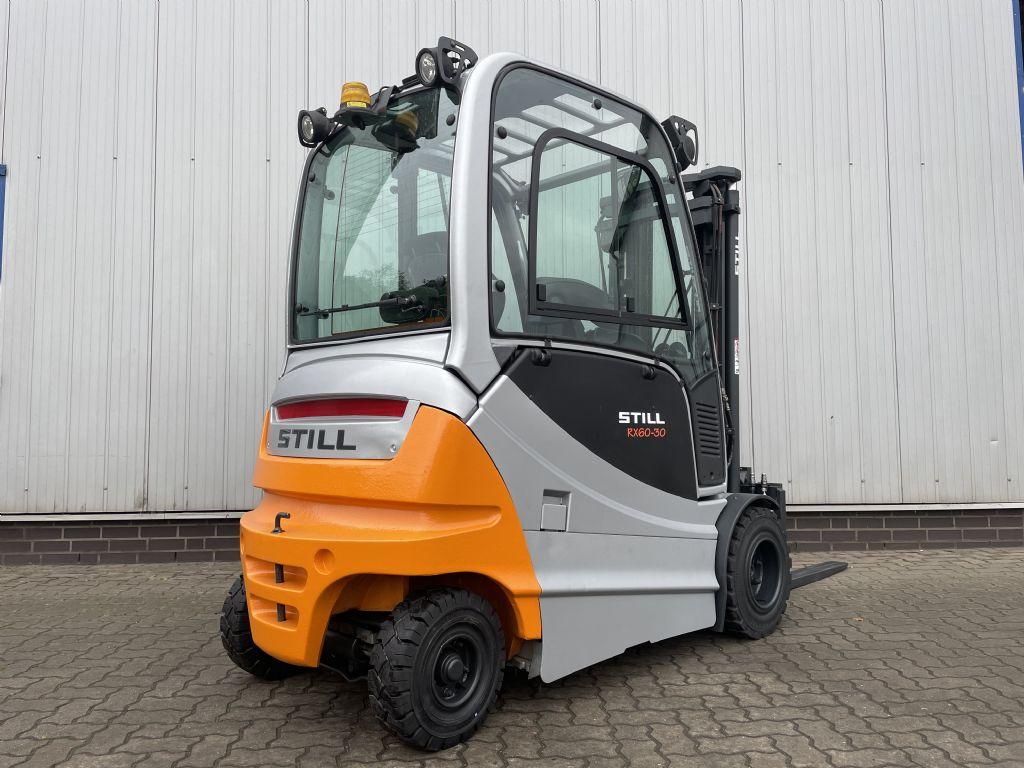 Still RX60-30 - AKKU NEU! Elektro 4 Rad-Stapler www.schumacher-gabelstapler.de