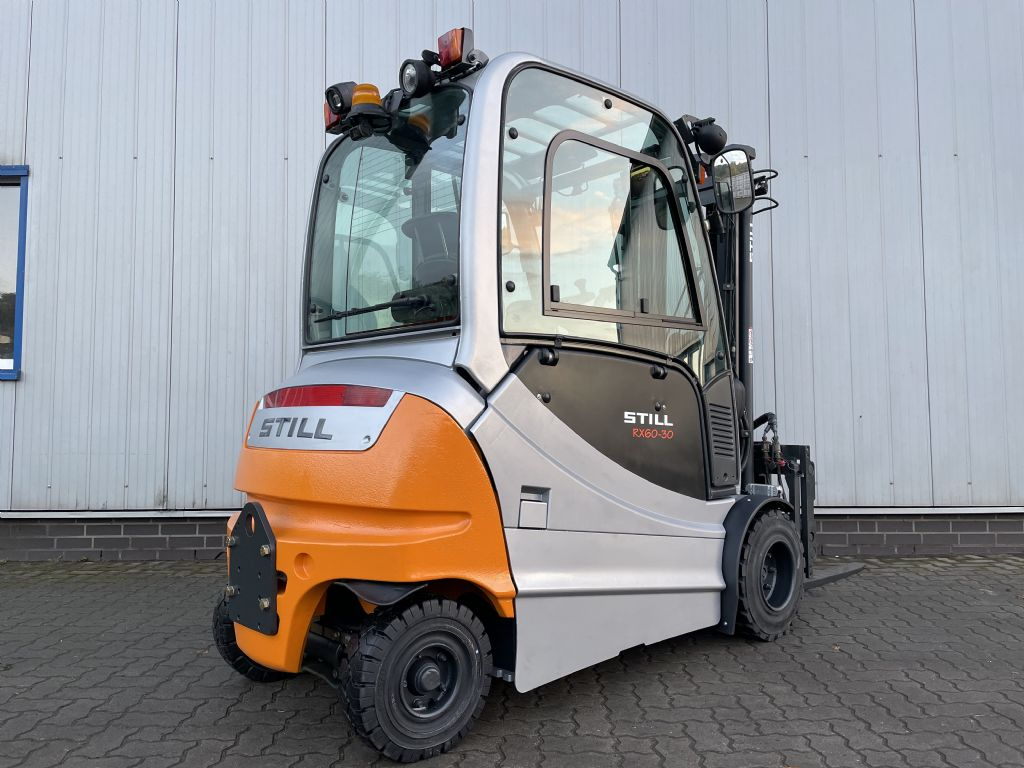 Still RX60-30L - AKKU NEU Elektro 4 Rad-Stapler www.schumacher-gabelstapler.de