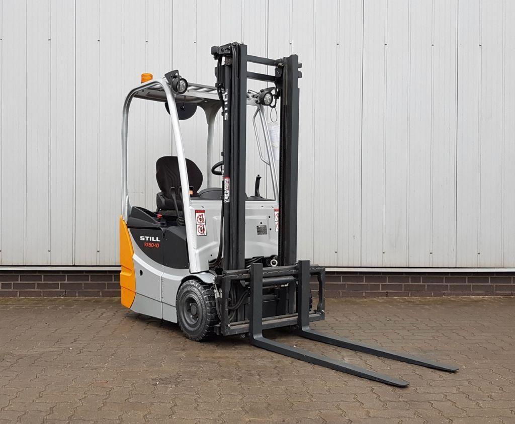Still RX50-10 L - BATT. NEU Elektro 3 Rad-Stapler www.schumacher-gabelstapler.de
