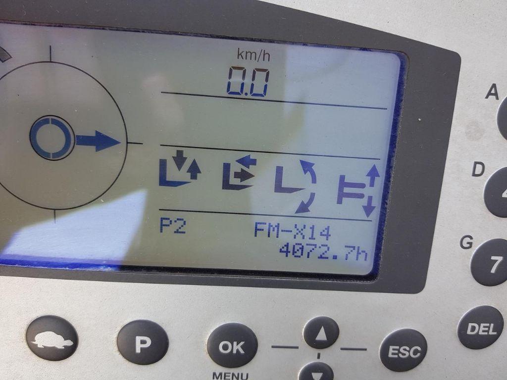 Still FM-X14 Schubmaststapler www.schumacher-gabelstapler.de