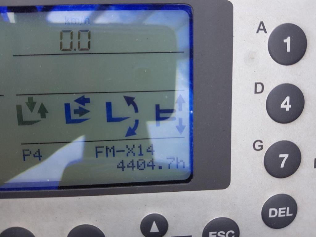 Still FM-X14 - NEUE BATT! Schubmaststapler www.schumacher-gabelstapler.de