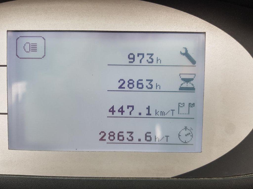 Still RX20-16P, nur 2865 Bst. Elektro 4 Rad-Stapler www.schumacher-gabelstapler.de