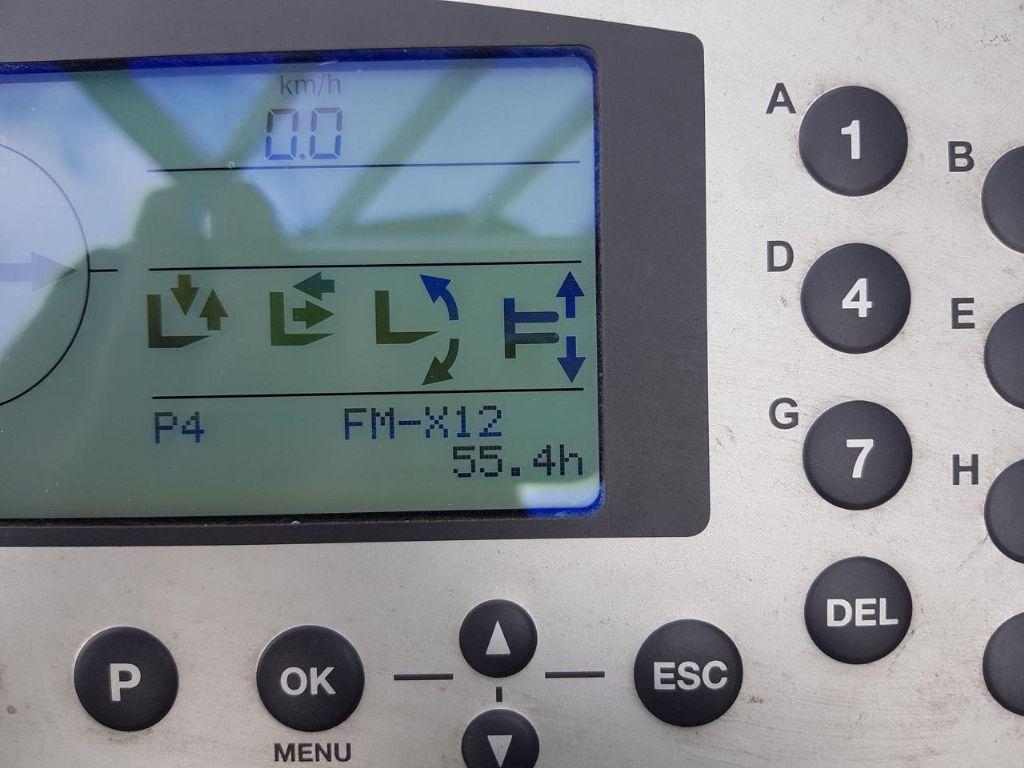 Still FM-X12 - ORIGINAL 56 Bst !!! Schubmaststapler www.schumacher-gabelstapler.de