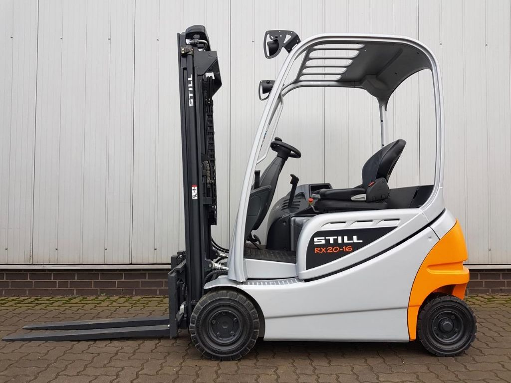 Still RX20-16P - BAUJAHR 2018! Elektro 4 Rad-Stapler www.schumacher-gabelstapler.de