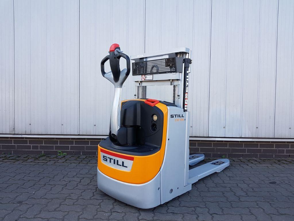 Still EXD18K - Doppelstock-Betrieb Hochhubwagen www.schumacher-gabelstapler.de