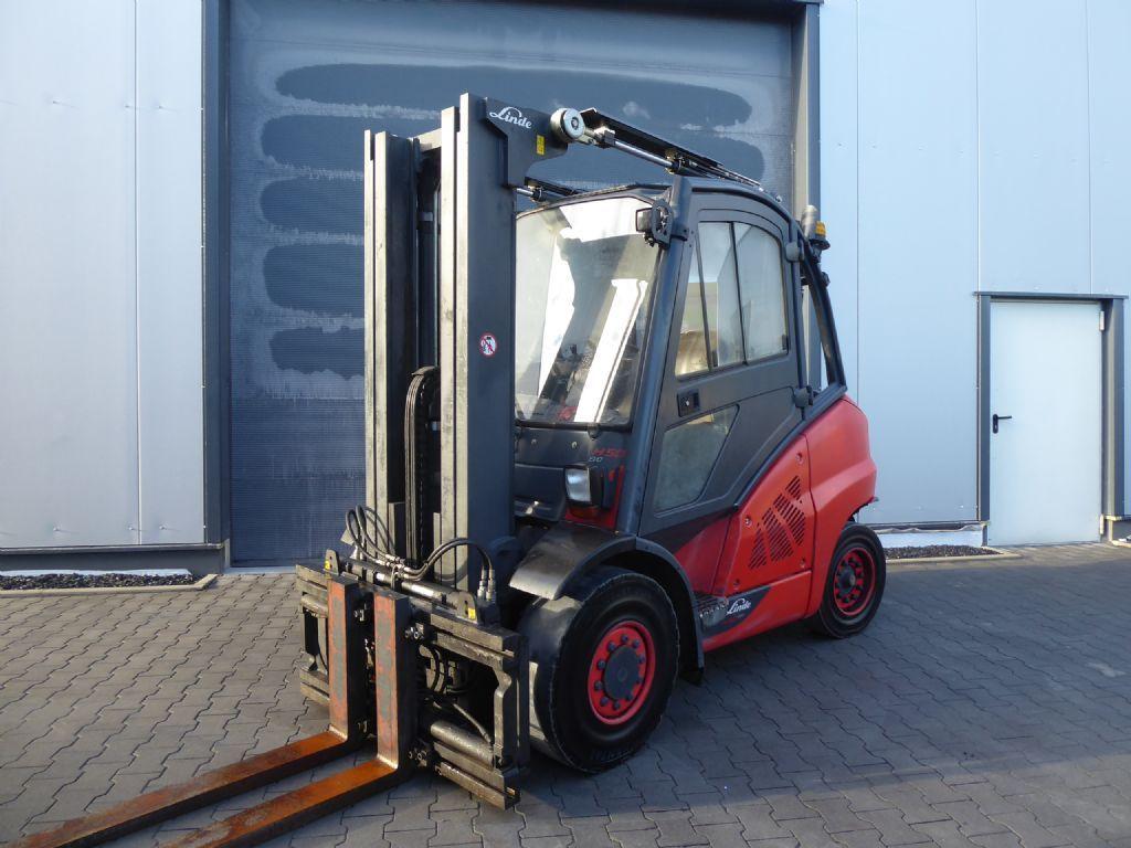 Linde H50D-02 Dieselstapler www.sks-stapler.at