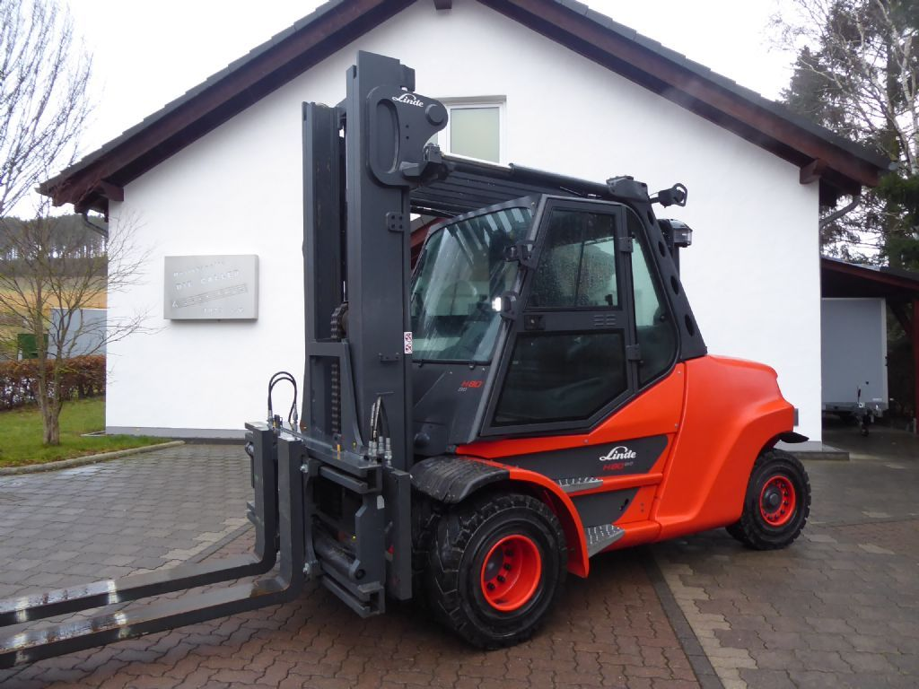 Linde H80D-03/1100 Dieselstapler www.sks-stapler.at