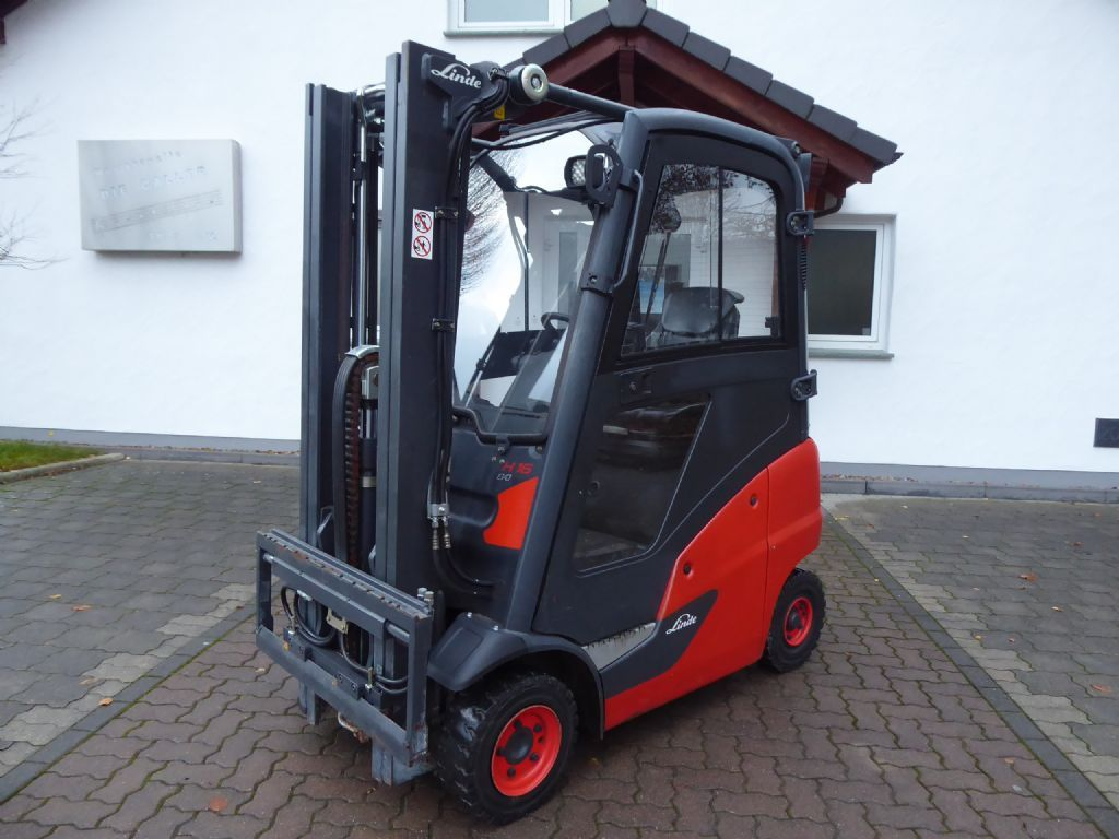 Linde H16D-01 Dieselstapler www.sks-stapler.at