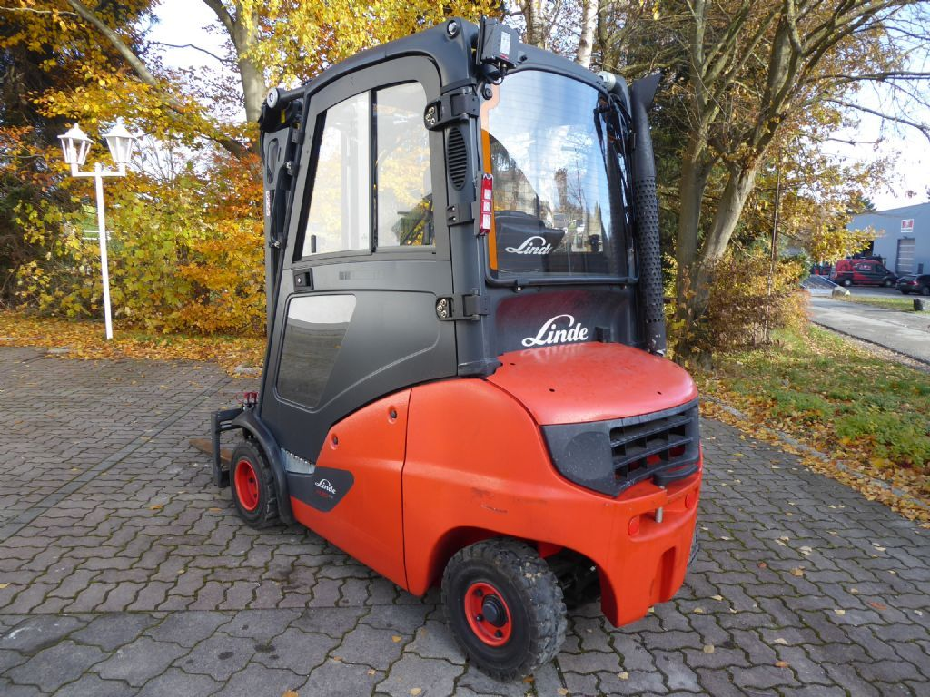 Linde H20D-01 Dieselstapler www.sks-stapler.at