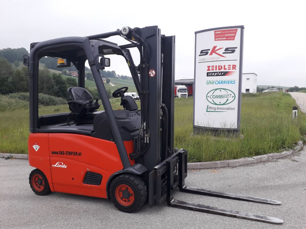 Linde E16PH Elektro 4 Rad-Stapler www.sks-stapler.at
