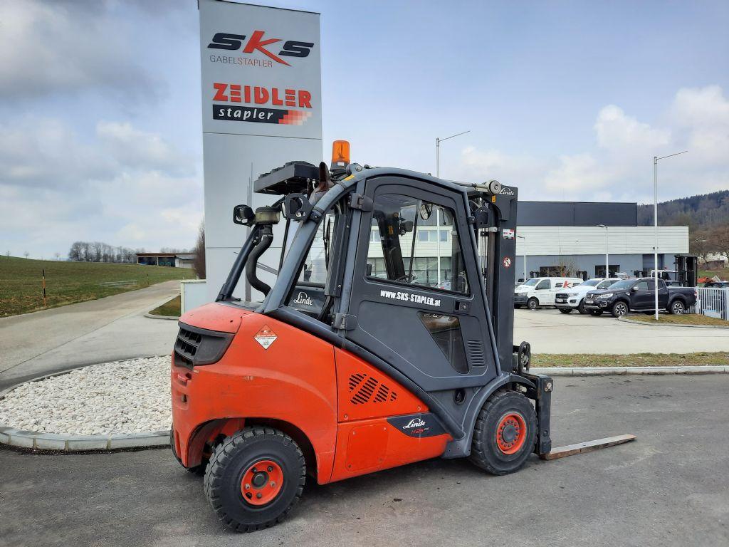Linde H25D-02/600 Dieselstapler www.sks-stapler.at