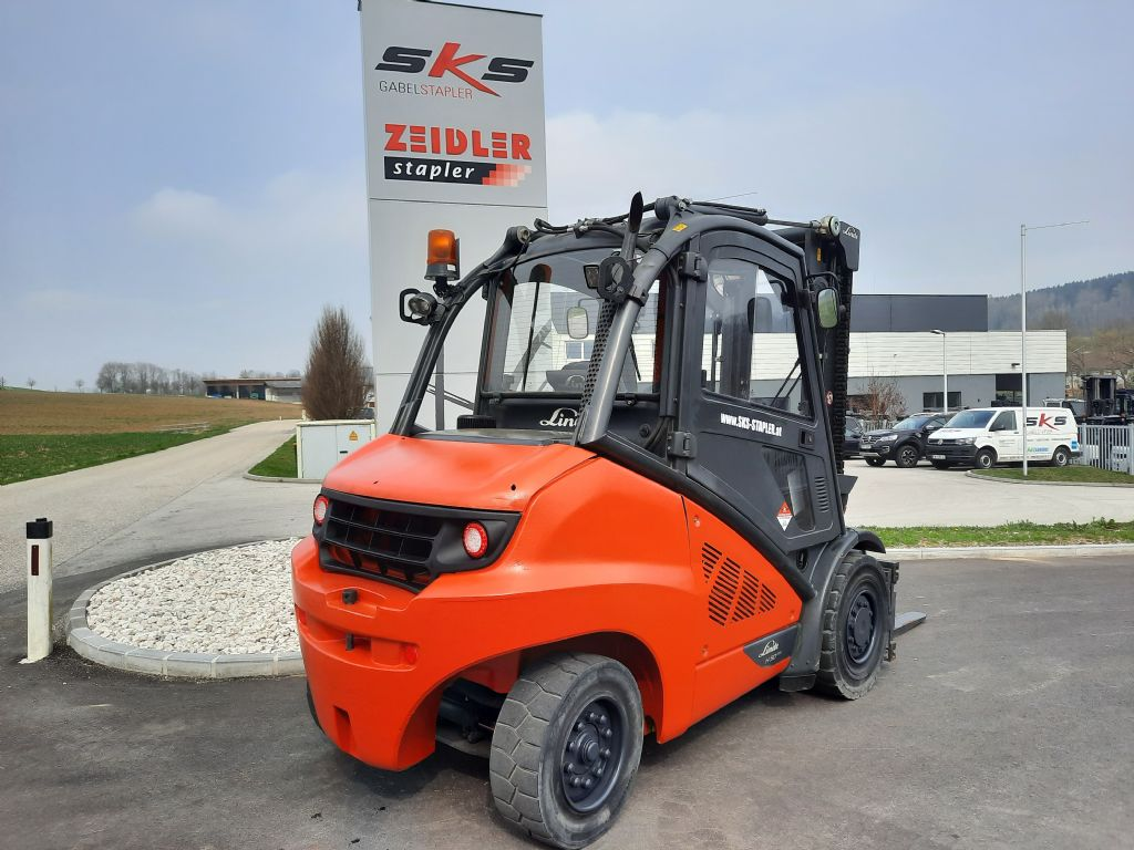 Linde H50D-02/600 Dieselstapler www.sks-stapler.at