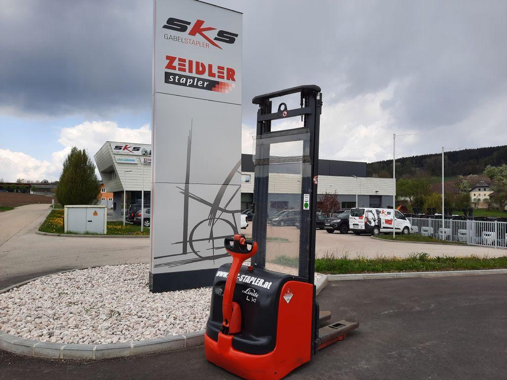 Linde L14 Hochhubwagen www.sks-stapler.at