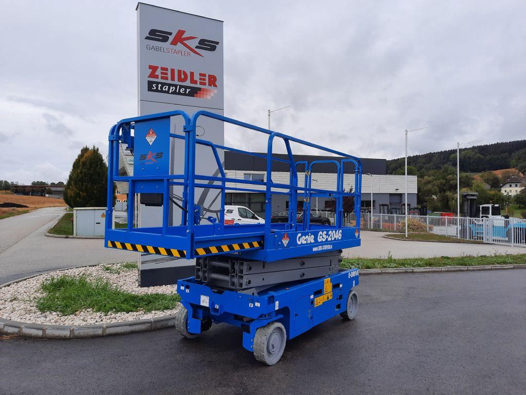 Genie GS-2046E Scherenarbeitsbühne www.sks-stapler.at