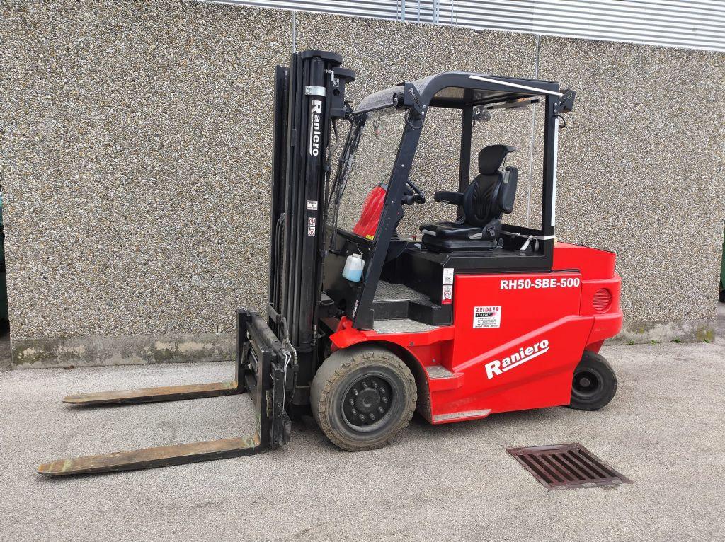 Raniero RH50-SBE-500 Elektro 4 Rad-Stapler www.sks-stapler.at
