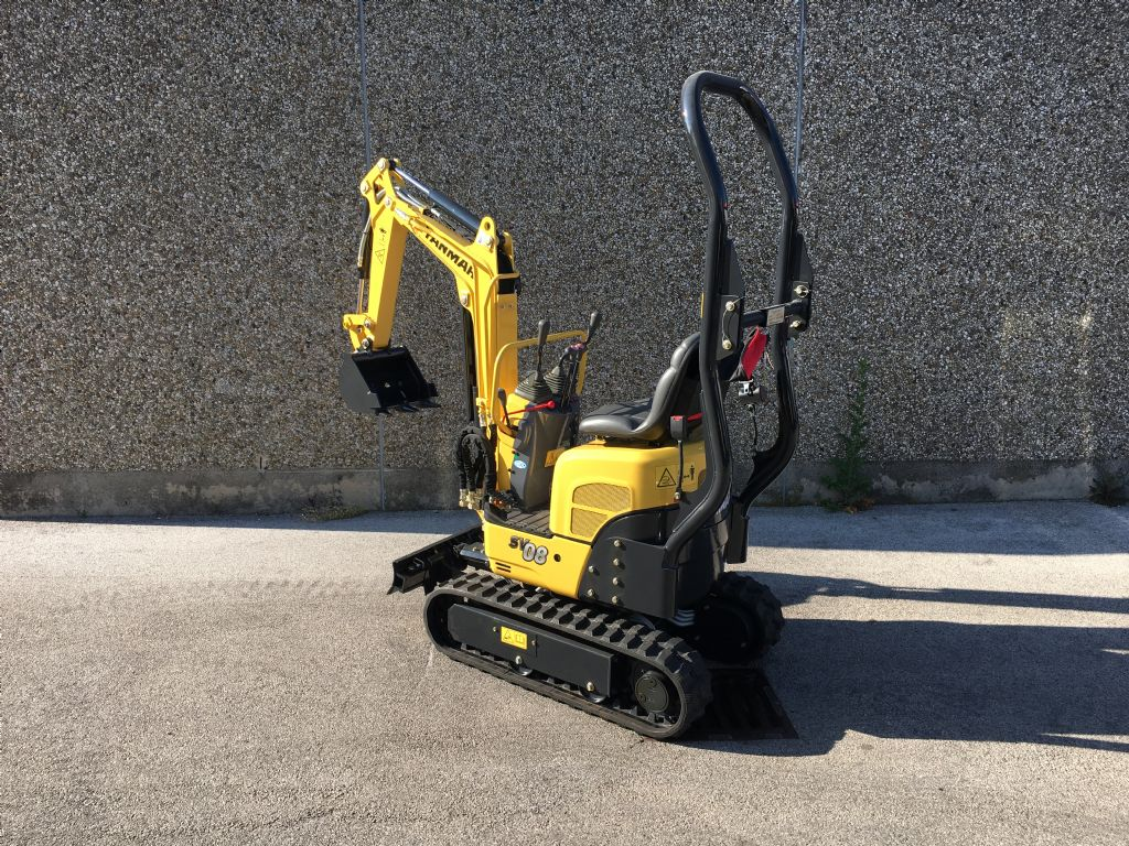Yanmar SV08-1AS		 Minibagger www.sks-stapler.at