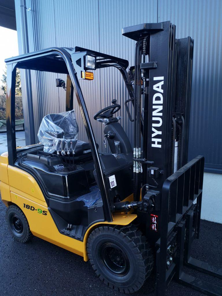 Hyundai 18D-9S Dieselstapler www.staplerprofi.co.at
