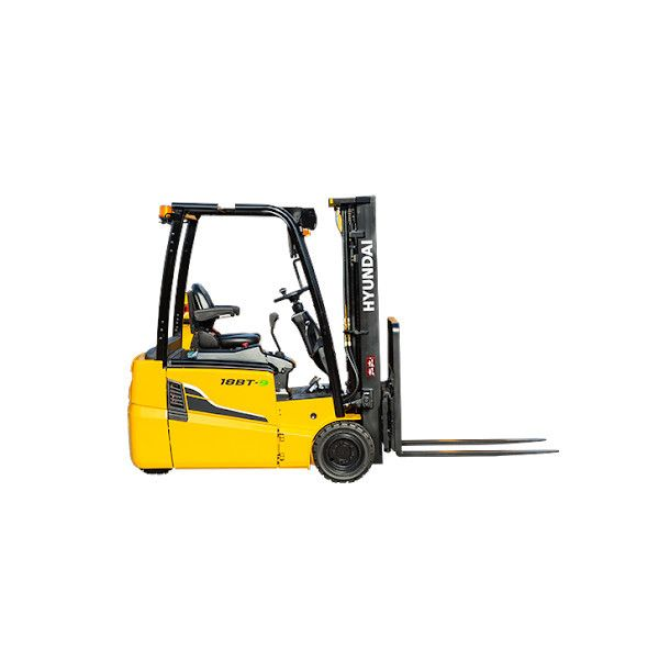 Hyundai 18BT-9U Electric 3-wheel forklift www.staplertechnik.at