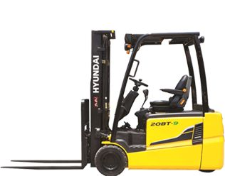 Hyundai 20BT-9U Electric 3-wheel forklift www.staplertechnik.at