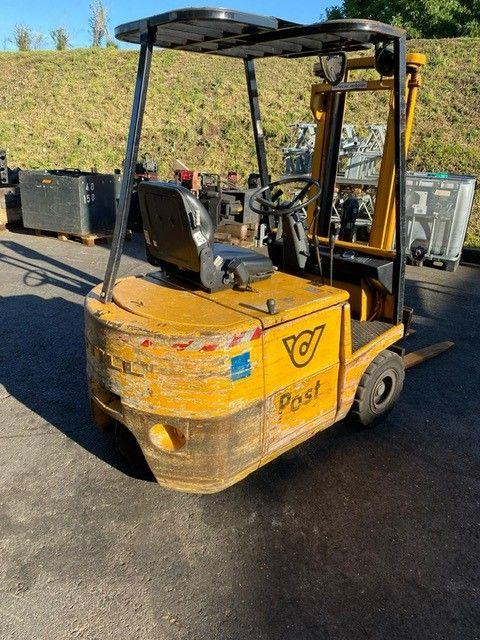 Still EFG1.5 Elektro 4 Rad-Stapler www.staplerprofi.co.at