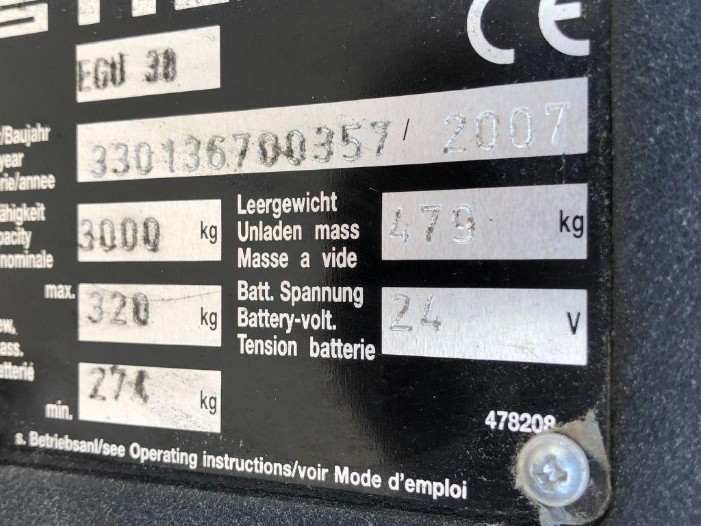 Still-EGU 30 -  2.000 mm Gabellänge-Niederhubwagen-www.sta-tech.de