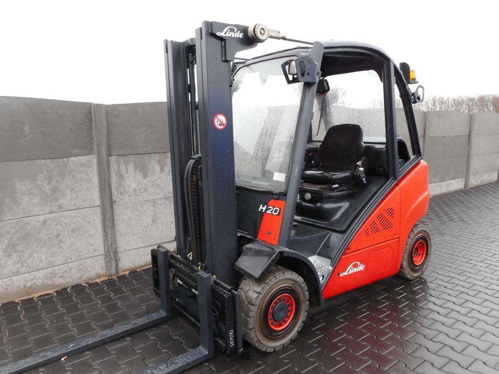 Linde H20T LPG Forklifts www.superlift-forklift.com