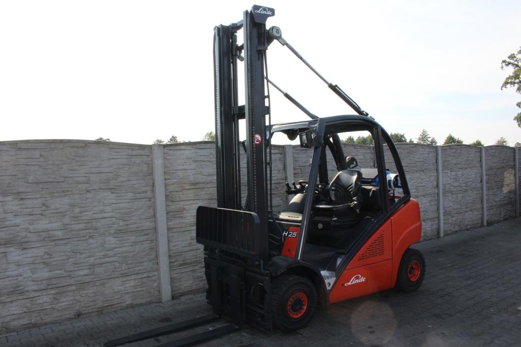 Linde H25T LPG Forklifts www.superlift-forklift.com