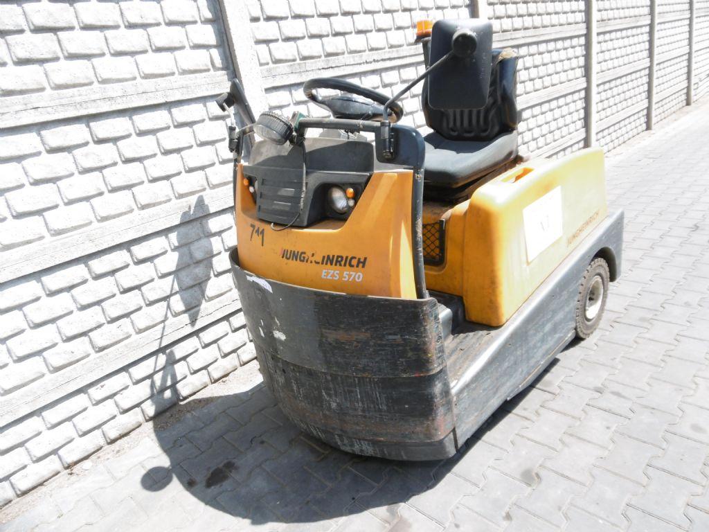 Jungheinrich EZS570 Tow Tractor www.superlift-forklift.com